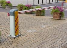Barreira da segurança para veículos de estacionamento Fotografia de Stock