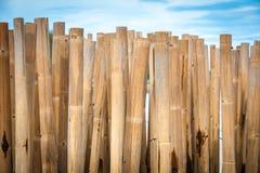 Barreira de bambu Imagens de Stock Royalty Free