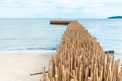 Barreira de bambu Imagem de Stock