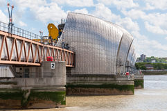 Barreira de Tamisa em Londres Foto de Stock