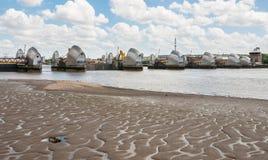 Barreira de Tamisa em Londres Fotos de Stock Royalty Free