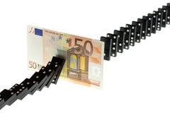 Barreira do dinheiro Fotografia de Stock