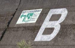 Barreira do tsunami Imagens de Stock