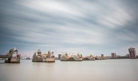 Barreira Londres de Tamisa foto de stock royalty free
