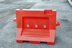 Barreira plástica Fotografia de Stock