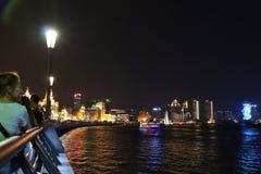 A barreira, Shanghai Foto de Stock Royalty Free