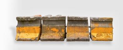 Barreiras concretas Imagens de Stock Royalty Free