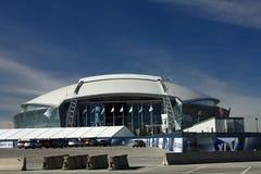 Barreiras da segurança do estádio dos cowboys Fotos de Stock