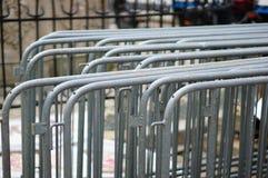 Barreiras do metal Foto de Stock Royalty Free
