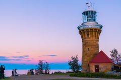 Barrejoey Head Lighthouse  at Palm Beach. NSW Australia Sep,12, 2016 Royalty Free Stock Photography