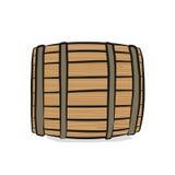 barrel деревянное Стоковое Изображение RF