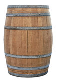 Barrel. Oak barrel with clipping path Stock Image