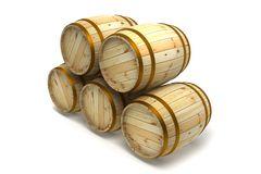 Barrel Royalty Free Stock Photos