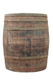 Barrel. Big old wine barrel, isolated on white background royalty free stock photography