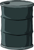 Barrel. On a white background, vector vector illustration