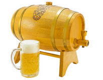 Barrel And Pint Stock Photography