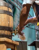 Barrel of beer Royalty Free Stock Image