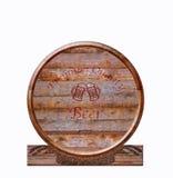 Barrel beer. Royalty Free Stock Photos