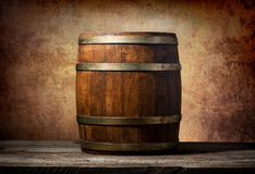 Barrel for beverages Stock Photos