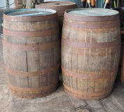 Barrel cask for wine or beer Stock Images