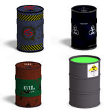 Barrel Collection Royalty Free Stock Photography