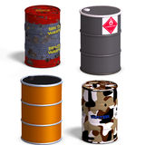 Barrel Collection Stock Photos