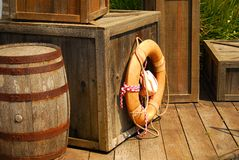 Barrel & Crate Stock Photography