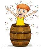 A barrel of fun idiom royalty free illustration