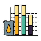 Barrel of gasoline icon. Vector illustration design vector illustration