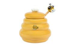 Barrel for honey Stock Images