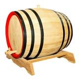 Barrel isolated Stock Photography