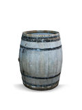 Barrel isolated. An isolated barrel on white background royalty free stock images