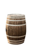 barrel isolated on white Royalty Free Stock Photo