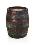 Barrel isolated on white Royalty Free Stock Images
