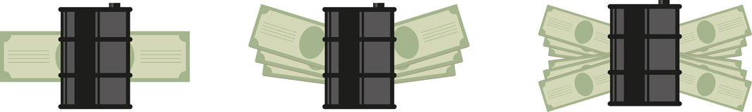 Barrel money icon Royalty Free Stock Photography