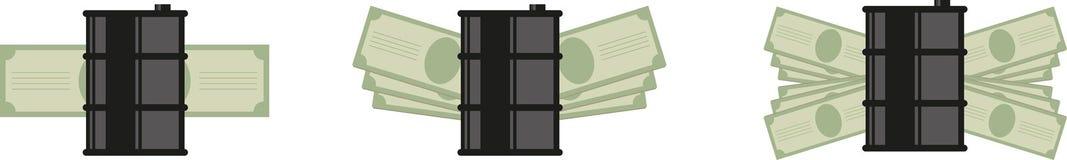 Barrel money icon Royalty Free Stock Photography