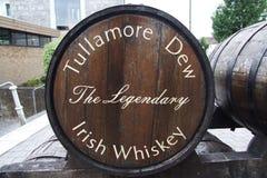 Free Barrel Of The Tullamore Dew Irish Whiskey Stock Photography - 138371882