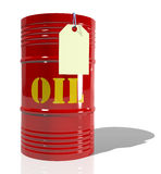 A barrel of oil Royalty Free Stock Photo