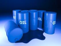 Barrel oil background vector illustration
