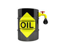 A barrel of oil Stock Images