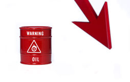 Barrel of oil Stock Images