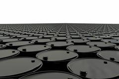 Barrel of oil on white background. business concept. Dollars. USA stock illustration
