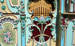 Barrel organ Royalty Free Stock Images
