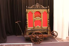 Barrel organ, Utrecht Royalty Free Stock Photos