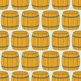 Barrel pattern Royalty Free Stock Photography