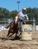 Barrel Racer Royalty Free Stock Photo