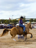 Barrel Racing Royalty Free Stock Image