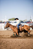 Barrel Racing Stock Photography