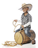 Barrel-Rider Royalty Free Stock Images