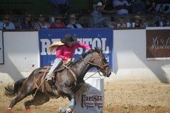 Barrel Rider , Santa Barbara, CA Royalty Free Stock Photos